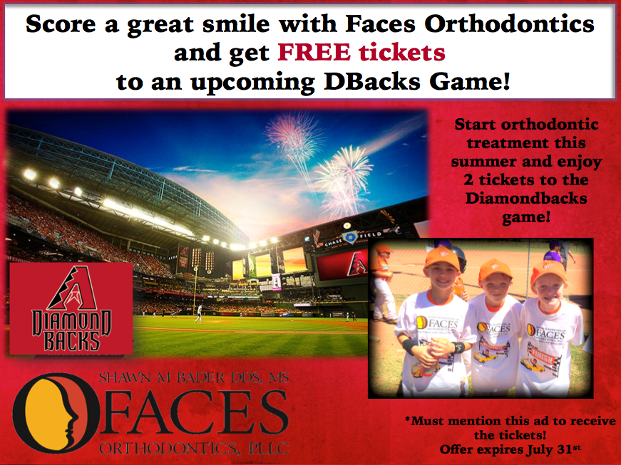 Scottsdale Orthodontist baseball game
